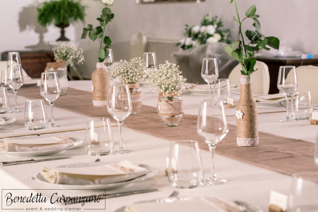 Event & Wedding Planner Roma - Benedetta Carpanzano - Gallery rustic chic wedding